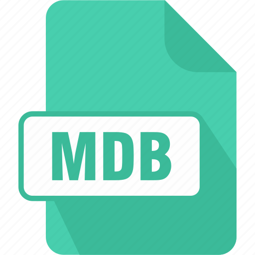 access, database, extension, file, mdb, microsoft access database, type icon