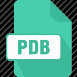 document, extension, file, pdb, program database, type icon