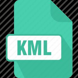 extension, file, keyhole, keyhole markup language file, kml, language, type icon