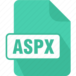 active server page, aspx, extension, file, server, type icon