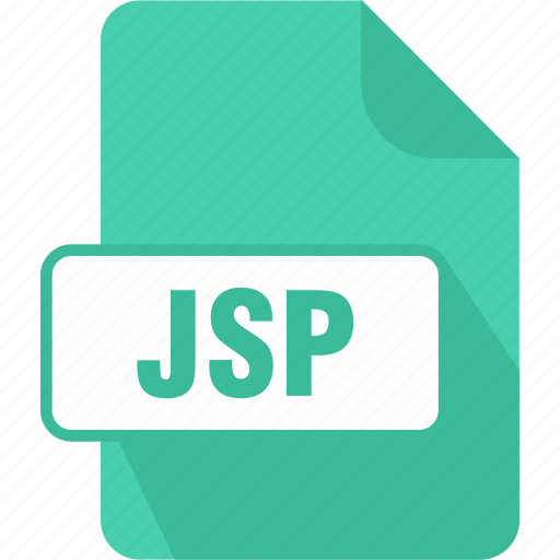 extension, file, java server page, jsp, type icon