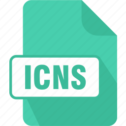 extension, file, icns, mac os x icon resource file, type icon