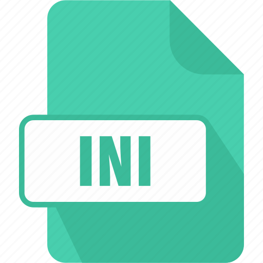 extension, file, ini, type, windows initialization file icon