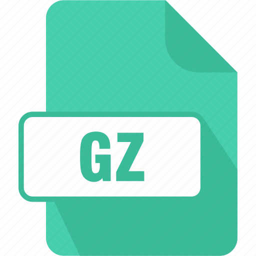 extension, file, gnu, gnu zipped archive, gz, type icon