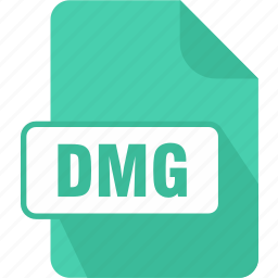 dmg, extension, file, mac os x disk image, type icon