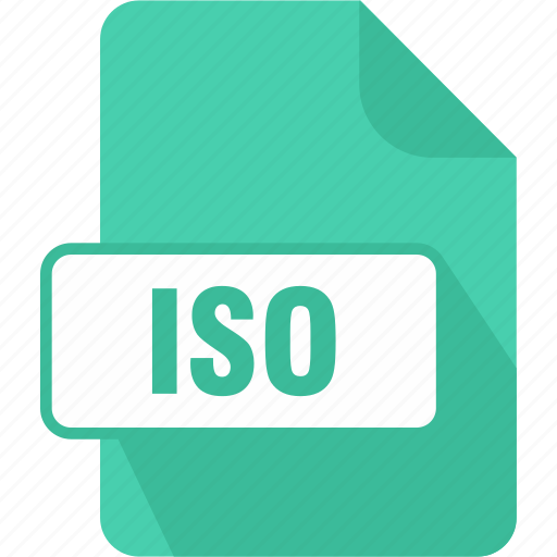 disc image file, extension, file, iso, type icon
