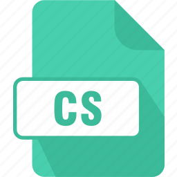 c#, cs, extension, file, type icon