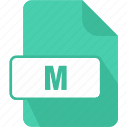 extension, file, m, objective-c implementation file, type icon