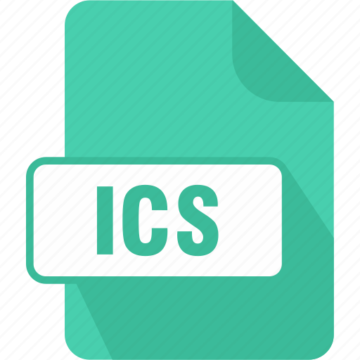 calendar file, extension, file, ics, type icon