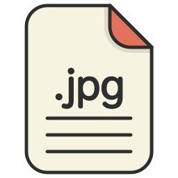 document, extension, file format, format, image, jpg icon