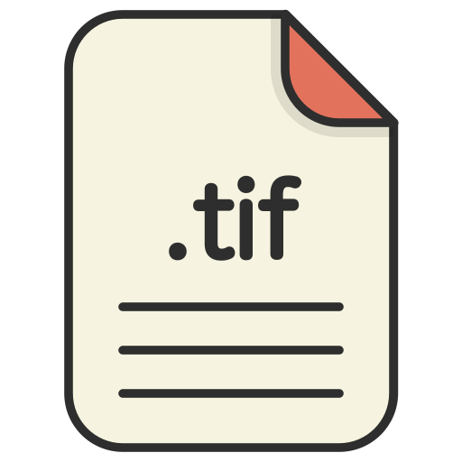 document, extension, file format, format, image, tif icon