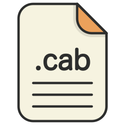 archieve, cab, compressed, document, file, format, zip icon