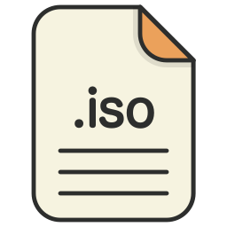 archieve, compressed, document, file, format, iso, zip icon