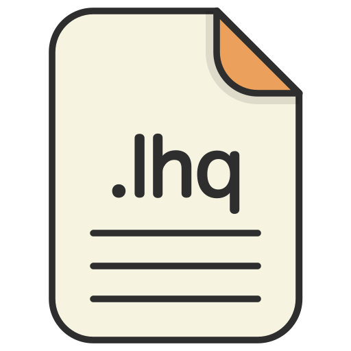 archieve, compressed, document, file, format, lhq, zip icon