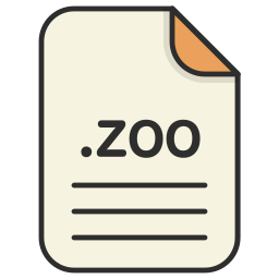 archieve, compressed, document, file, format, zip, zoo icon