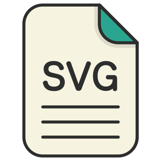 document, file, file svg, generic file, illustrator, vector format icon