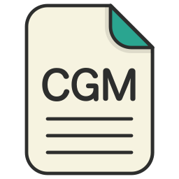 cgm, document, file, generic file, illustrator, vector format icon
