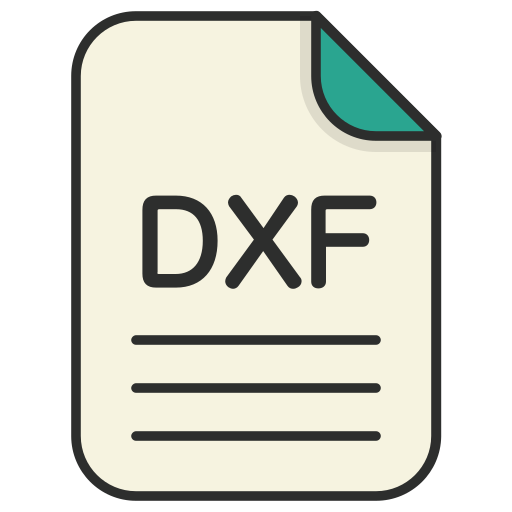 document, dxf, file, generic file, illustrator, vector format icon