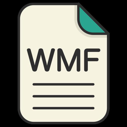 document, file, generic file, illustrator, vector format, wmf icon