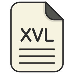 document, file, file 3d, format, type, xvl icon