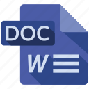 doc, document, file, tag icon