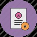account, details, document, favorite, important, profile, user icon