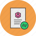 account, analysis, data, document, profile, statistics, user