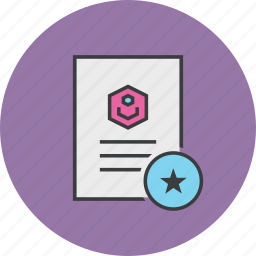 bookmark, details, document, favorite, important, profile, user icon