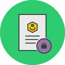 account, business, details, document, profile, trade, travel icon