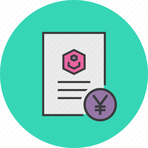 Account statement, banking, business, customer, document, user, yuan icon - Download on Iconfinder