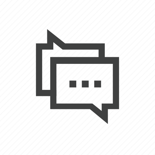 comments, conversation, messages icon