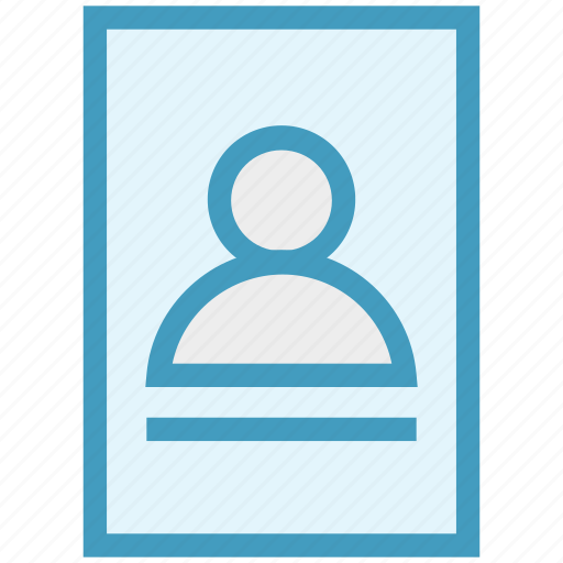document, file, organizer, page, user, user document, user file icon