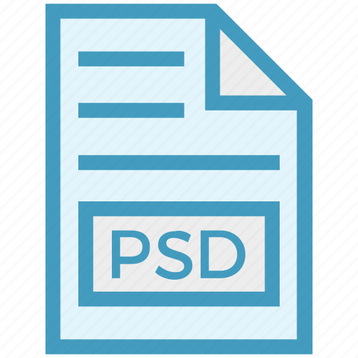 Document, document list, extension, file, format, page, psd icon - Download on Iconfinder