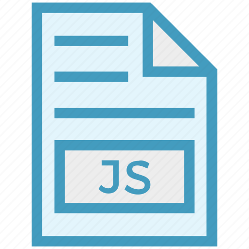 document, document list, extension, file, format, js, page icon