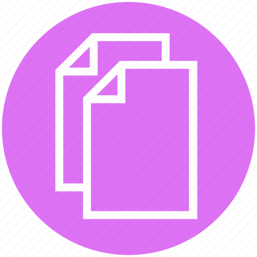 document lists, documents, files, pages, papers, texts icon