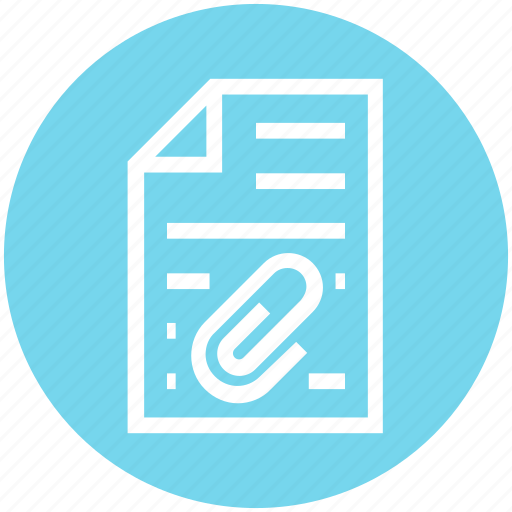Clip, document, document list, file, page, paper, text icon - Download on Iconfinder