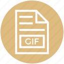document, document list, extension, file, format, gif, page