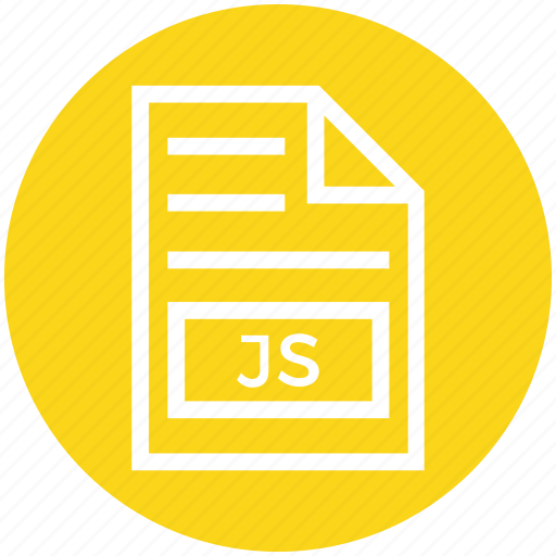Document, document list, extension, file, format, js, page icon - Download on Iconfinder