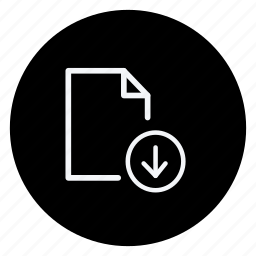 archive, data, document, download, file, folder, storage icon