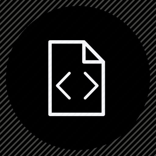 Storage, file, folder, document, data, archive, coding icon