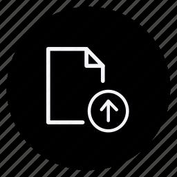 archive, data, document, file, folder, storage, upload icon