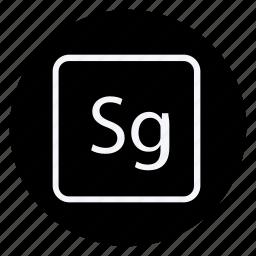 archive, data, document, file, folder, sg, storage icon