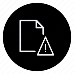danger, data, document, extension, file, folder, storage icon