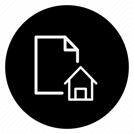 data, document, file, folder, home, house, storage icon