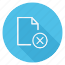 archive, data, delete, document, file, folder, storage icon