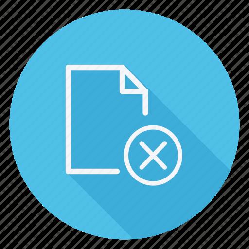 archive, data, delete, document, file, folder, storage icon