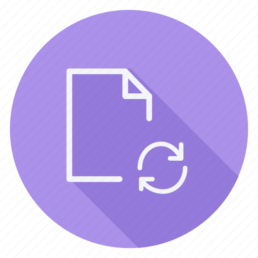 archive, data, document, file, folder, reload, storage icon