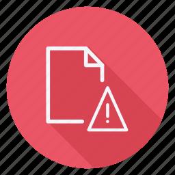 archive, data, denger, document, file, folder, storage icon