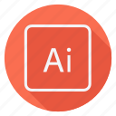 ai, archive, data, document, file, folder, storage icon