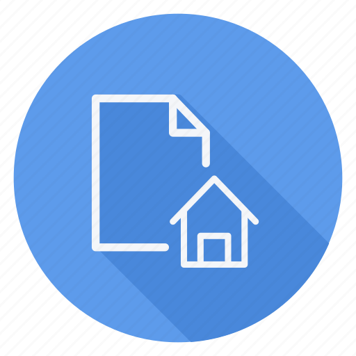 archive, data, document, file, folder, house, storage icon